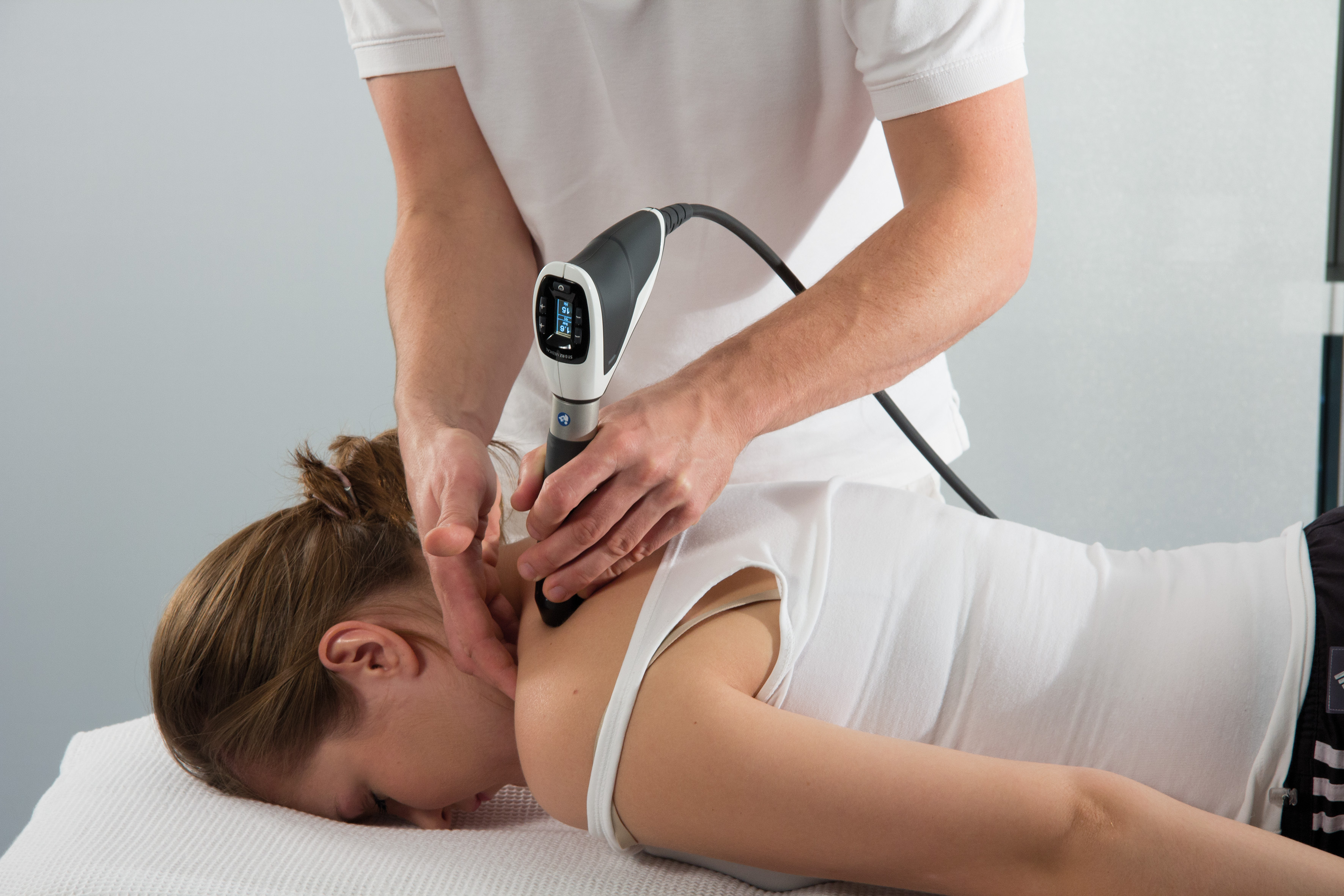 Neck - shockwave therapy